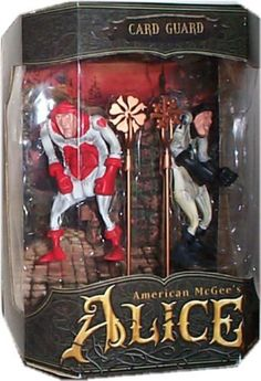 American McGees Alice Card Guard Action Figure Box Set >>> You can get more details by clicking on the image.