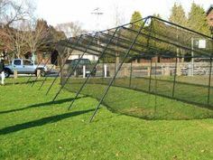 How to Build Backyard Batting Cages