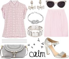 """calm"" by adrrda ❤ liked on Polyvore"