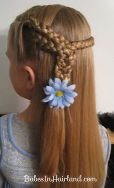 3 Braids into 1 Braid from Babes In Hairland