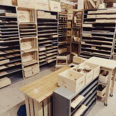 Jenga, Atelier, Crate, Wine, Timber Wood