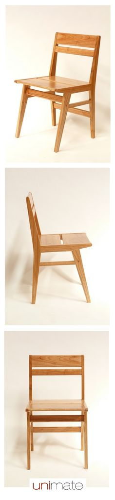 Producto destacado: #silla Eva, realizada en madera paraíso lustre natural. Mirá más sillas para tu casa en www.unimate.com.ar #Unimate