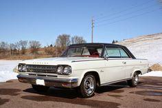 1966 Rambler Rebel 2 Door Hardtop - True West Imports