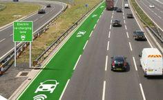 Koncem letošního roku se začne v Británii po dobu 18 měsíců testovat nová technologie, která bude umožňovat dobíjení elektromobilu během jízdy.