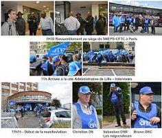 """Résultat de recherche d'images pour """"photos de Manifestation SNEPS-CFTC"""""""