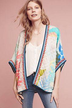 Nikelle Quilted Kimono