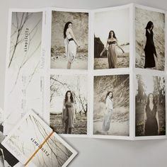 Branding - Maya Negri - designer fashion brand by Anna Geslev Studio, via Behance