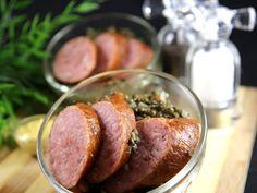 lentille verte, oignon, carotte, saucisse de morteau, épice, huile d'olive, bouquet garni