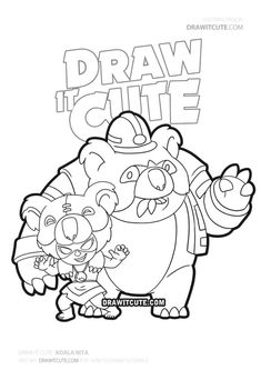 Koala Nita skin Brawl Stars wallpaper - Draw it cute You are in the right place about Brawl Stars Wallpaper penny Here we offer you the most be Star Wallpaper, Wallpaper Pictures, Clash Royale, Super Easy Drawings, World Oil, Star Coloring Pages, Best Weave, Sailor Moon, Dark Souls