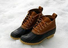 LL Bean boots.-----It doesn't matter how long these have been around. They have always been so good to me!
