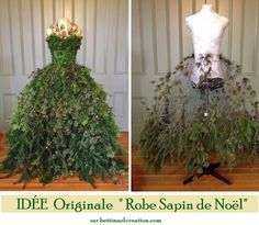 "Original idea: How to make his ""Christmas tree"" with his bust of sewing Bettinael.Made in france: Idée originale : Comment faire son ""Arbre de Noël"" avec son buste de couture - Door Mannequin Christmas Tree, Dress Form Christmas Tree, Christmas Makes, Xmas Tree, All Things Christmas, Christmas Holidays, Metal Tree Wall Art, Theme Noel, Arte Floral"