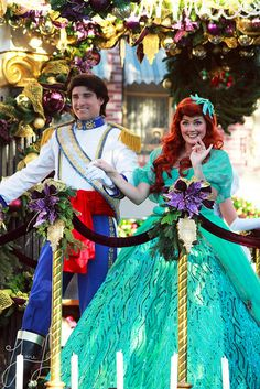 All sizes | Ariel and Prince Eric, via Flickr.