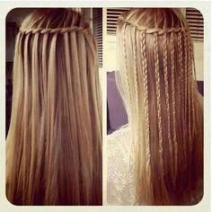 #Şelale #Saç #Örgü