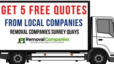 Removal Companies Surrey Quays - SE16  - Get Your Free Quote Today