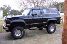 1991 Chevrolet Blazer for SexySquirrel <3   **still needs new tires, rack, winch bumper, spotlights, etc. :p