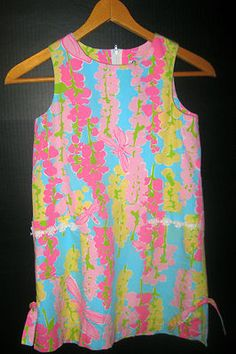 Lily Pulitzer Snappy Dragonfly dress size 7 for sale on Ebay. I love Lily Pulitzer!!!