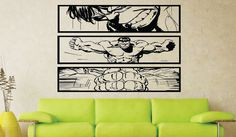 Hall of Heroes Wall Art brings you our funky Hulk Smash Comic Strip Wall Art made by us from high quality vinyl. This wall art is presented in a