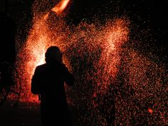Timișoara-Fire Show by Flavia Alexandra Dark Red, Posters, Fire, Silhouette, Awesome, Nature, Photography, Outdoor, Outdoors