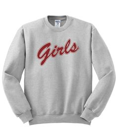 Girls Red Letters Friend TV Show Sweatshirt