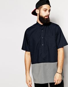 The Ragged Priest Shirt With Grandad Collar