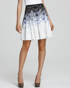 Elie Tahari Alexandria Skirt thestylecure.com  I really like Tahari.  Fits me well.  This would be great for the summer.