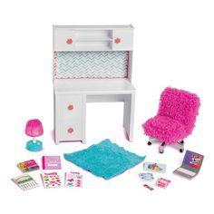 my life doll accessories Muebles American Girl, Ropa American Girl, American Girl Doll Room, American Girl Furniture, Our Generation Doll Accessories, My Life Doll Accessories, American Girl Accessories, Baby Alive Dolls, Baby Dolls