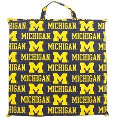 Michigan Wolverines Game Day Cushion #UltimateTailgate #Fanatics