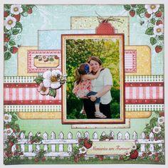 Heartfelt Creations- Berry Cafe Scrapbooking, Scrapbook, Papercrafting