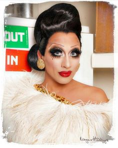 The eyes of Bianca Del Rio