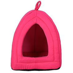 Coral Fleece Pet Bed Cozy Dog Cat Tent Lgloo ** You can find out more details at the link of the image. (This is an affiliate link and I receive a commission for the sales) Paris Bedroom, Cat Tent, Cozy Bed, Dog Cat, Coral, Pure Products, Pets, Amazon, Link