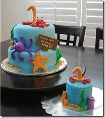 Ocean Theme & smash cake