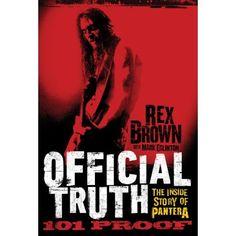 Rex Brown Releasing Pantera Memoir