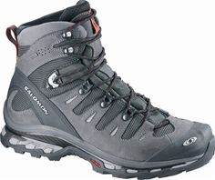 QUEST 4D GTX: A technical boot for long distance backpacking, and with the mesh upper your foot will breath easy in high heat environments.