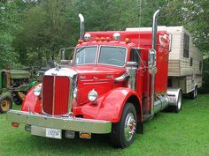 Antique Mack truck with some modern updates by Thumpr455, via Flickr