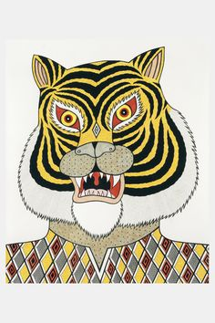 Marvelous Drawing Animals In The Zoo Ideas. Inconceivable Drawing Animals In The Zoo Ideas. Tiger Illustration, Animal Paintings, Animal Drawings, Art Drawings, Asian Tigers, Japanese Tattoo Art, Tiger Art, Art Brut, Space Cat