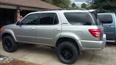 Lifted Toyota Sequoia with Toytec 3 inch suspension 2003 Toyota 4runner, Toyota 4x4, Toyota Tundra, Car Camper, Campers, Toyota Sequioa, Ford Ranger Truck, Toyota Land Cruiser, Jeep Wrangler
