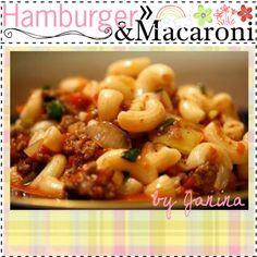 """Hamburger & Macaroni ♥"" by thebestcookbook on Polyvore"