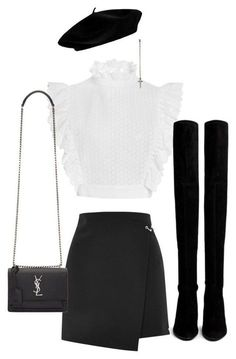 Komplette Outfits, Kpop Fashion Outfits, Stage Outfits, Cute Casual Outfits, Polyvore Outfits, Stylish Outfits, Airport Outfits, Look Fashion, Korean Fashion