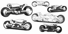 ArtStation - Motorcycle Concept Sketchpage, Benjamin Last