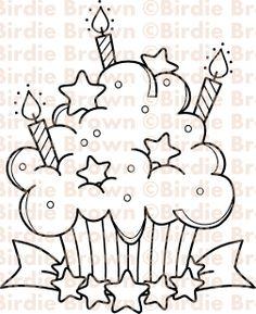 Cupcake - Star.