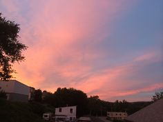 beautiful sunset ansonia, ct ☀️☀️