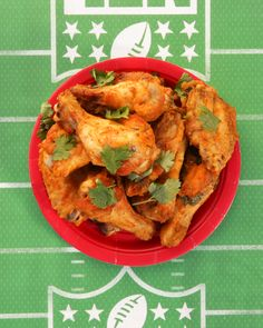 Sweet and spicy wings - Don't process the salsa. Leave as is. Use more cayenne pepper.