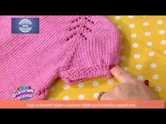 Knitted Hats, Crochet Hats, Knit Baby Dress, Knitting Videos, Baby Knitting, Hoodies, Purple, Blog, Clothes