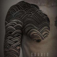 Le célèbre Gakkin et ses tatouages traditionnels japonais