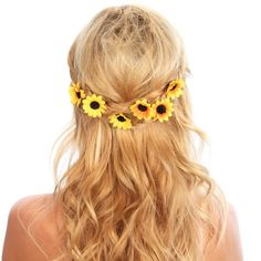 Sunflower Hair clips | Jane