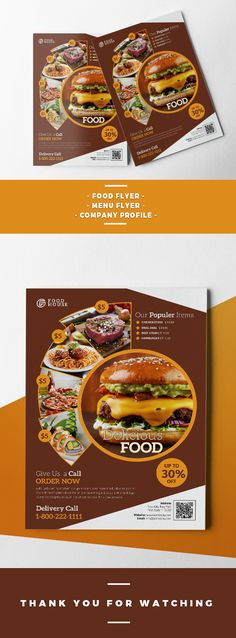 Capricia Restaurant Flyer Template Flyer template, Template and - restaurant flyer