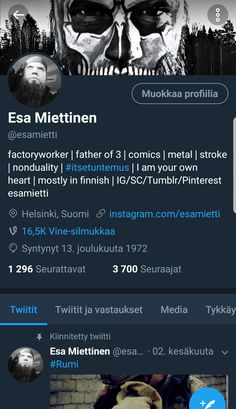 My Twitter Account