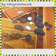 Mein bisheriger Fortschritt in der Tellermanufraktur :) alles #Handarbeit #handmade aus #Fimo #polymerclay für die #Puppenstube