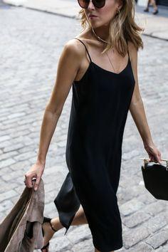 Slip Dress and Suede Moto Vest | MEMORANDUM, formerly The Classy Cubicle