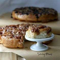 With a Grateful Prayer and a Thankful Heart: Pecan Sticky Buns from Bread Machine Dough